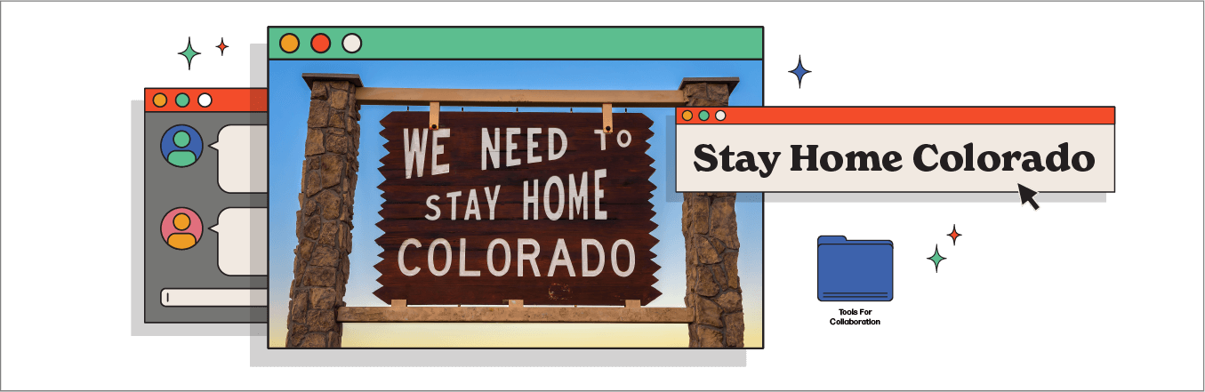 Stay Home Colorado Social Campaign