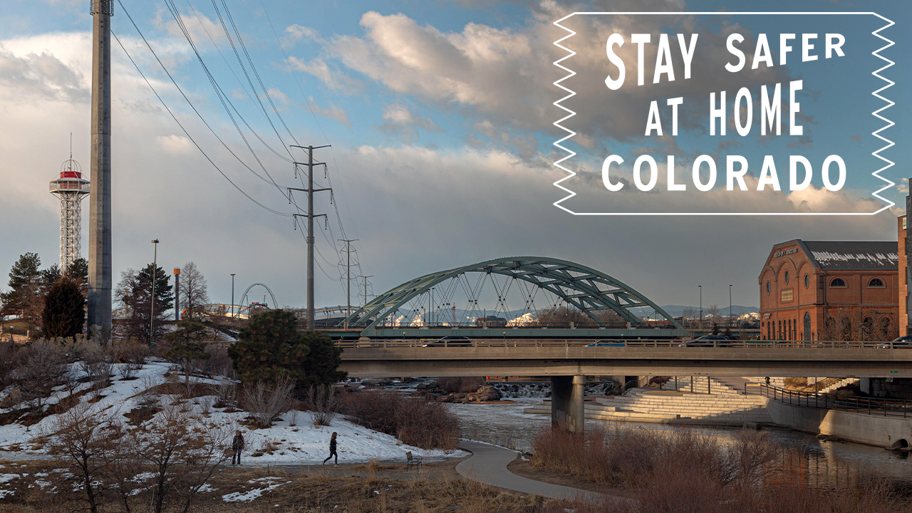 #StayHomeColorado - Platte River