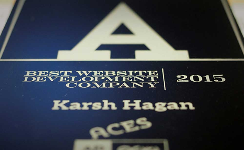 Karsh Hagan Named Best Web Development