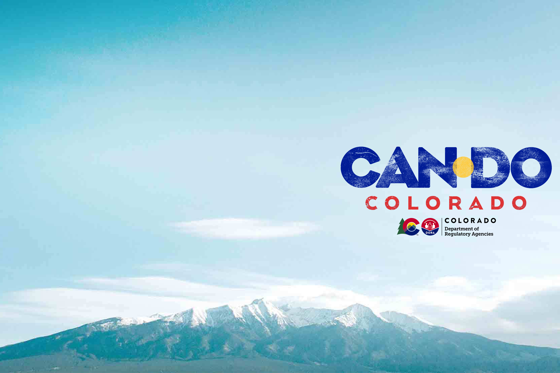 """CAN DO COLORADO"""