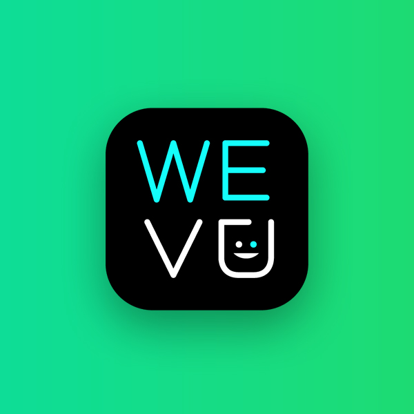 Wevu's playfully illustrated iconography.