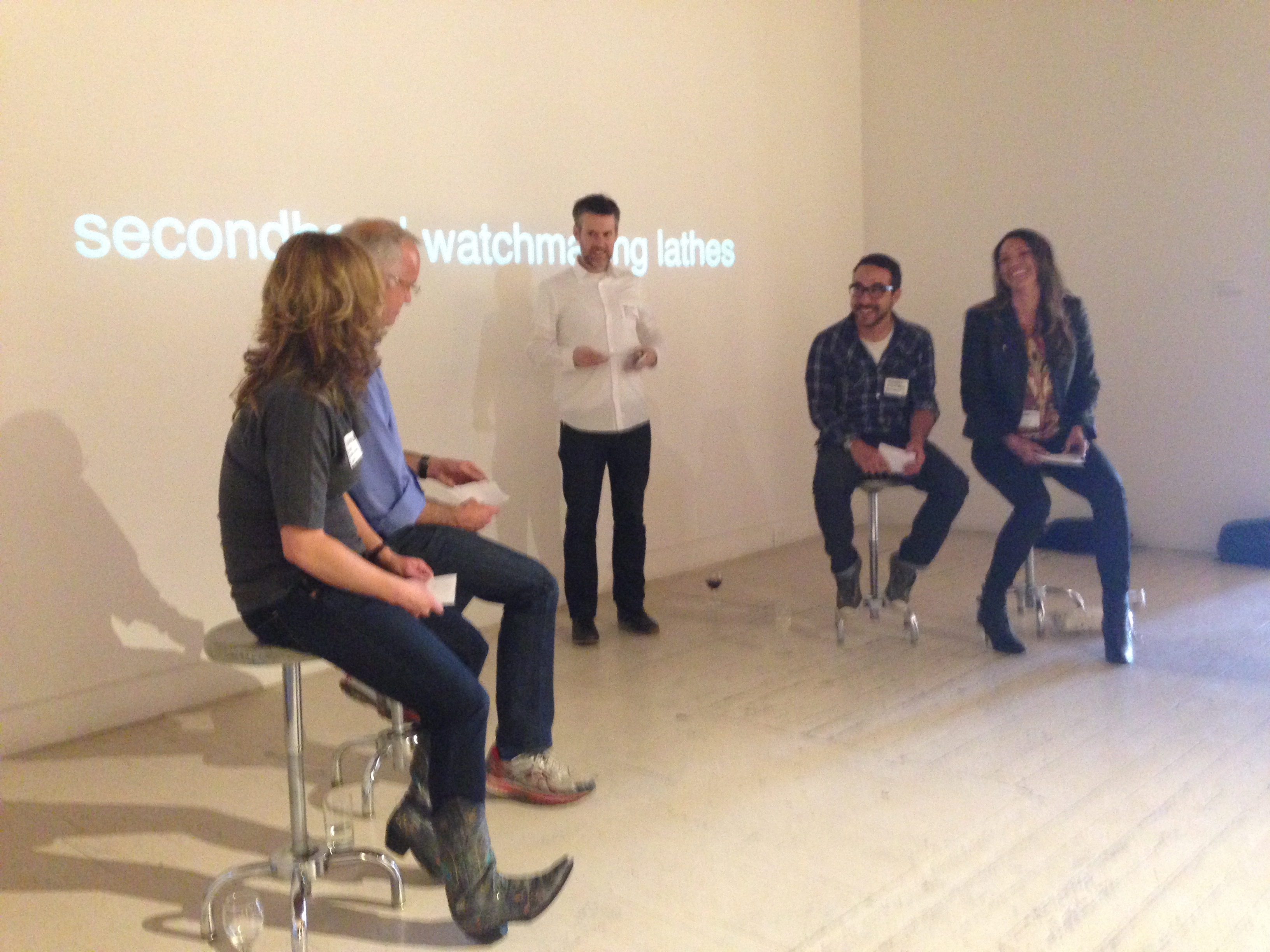 TDA's Schoenie and I on a panel at BMOCA with BDW and Digiday last week